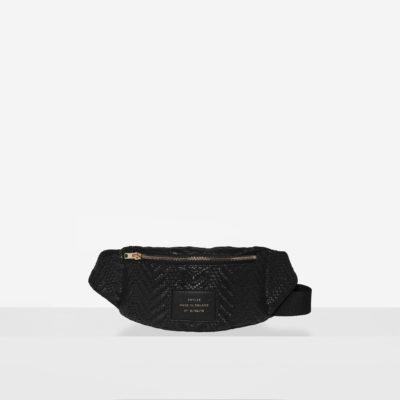 """Waist Bag """"black woven"""""""