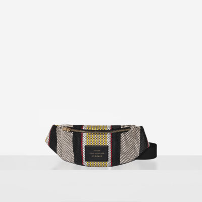 "Waist Bag ""striped woven"""