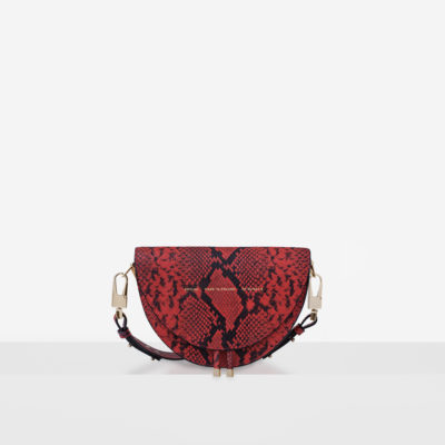 "Saddle Bag ""red python"""