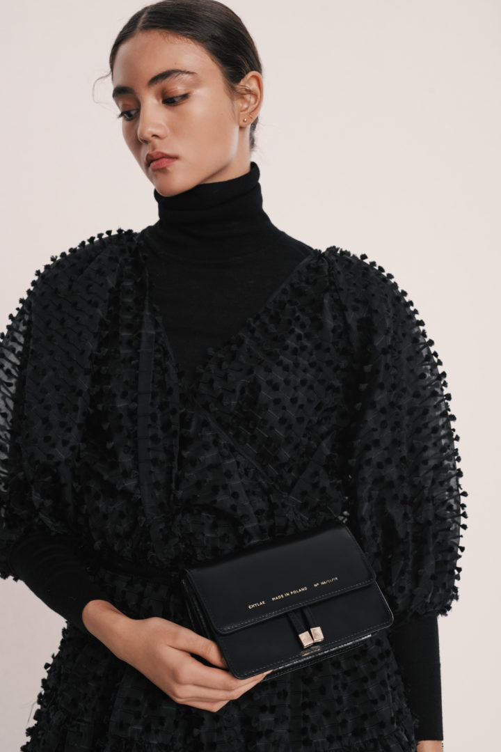 "Mini Belt Bag ""glossy black"""