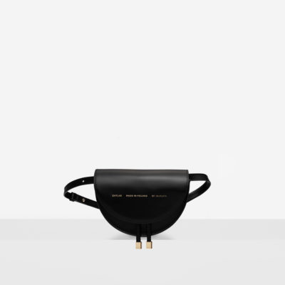 "Mini Saddle Bag ""glossy black"""