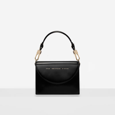 "Retro Bag ""glossy black"""