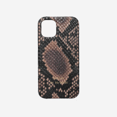 "iPhone Case ""brown python"""